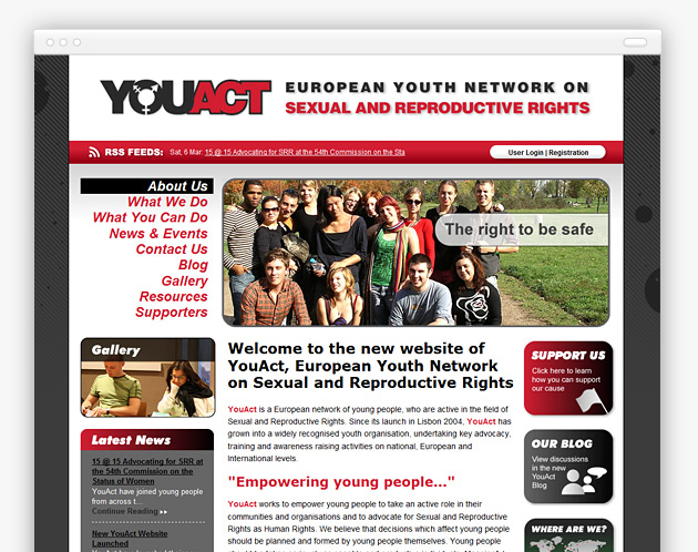 YouAct - European Community Website