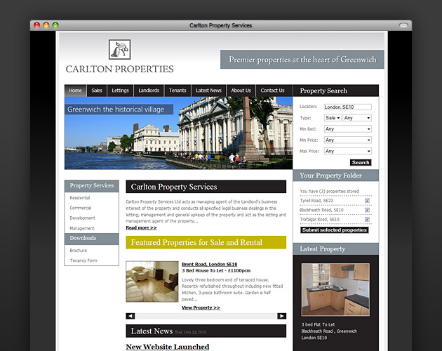 Carlton Property Services - Home