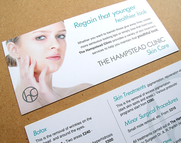 The Hampstead Clinic - Postcard Marketing
