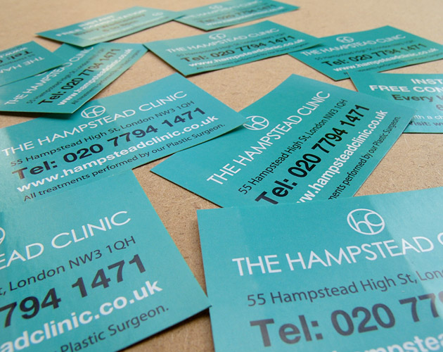 The Hampstead Clinic - Marketing Stickers