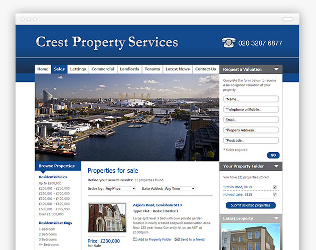 Crest Property Services - Property Listing