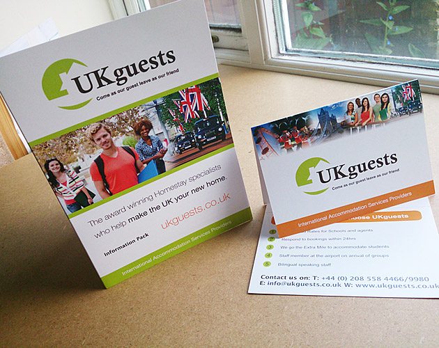 UKguests - A5 Business Folder