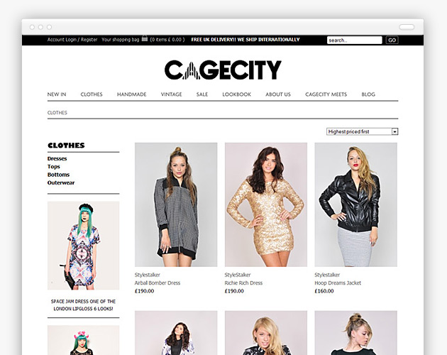 Cagecity - Product Category