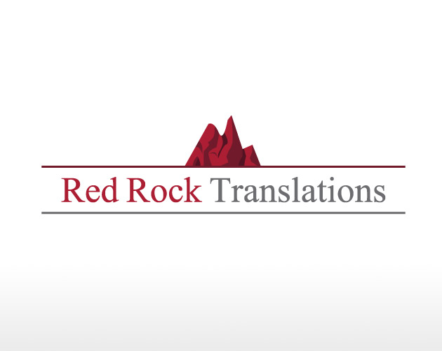 Red Rock Translations - Logo Design