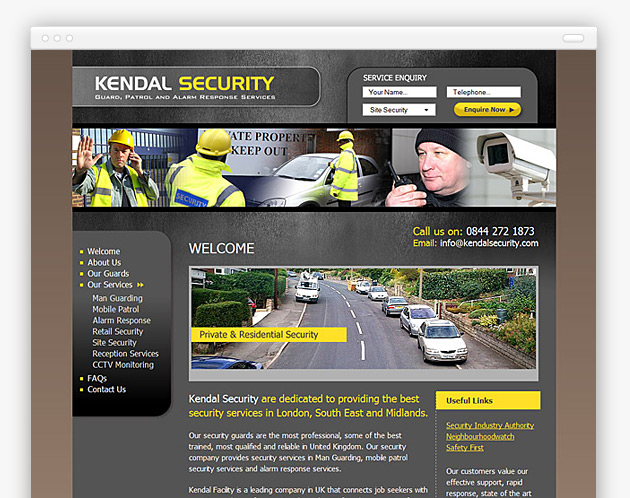 Kendal Security - Private and commercial security