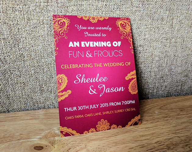 Celebration - Wedding Invitation Design