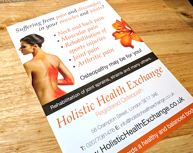 Holistic Health Exchange - Print Marketing
