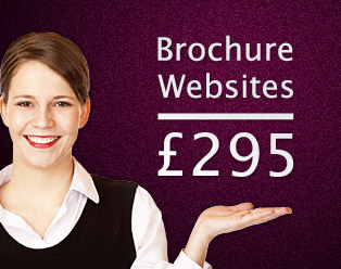 Small business brochure website prices from only £295