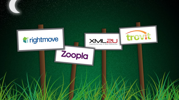 Rightmove, Zoopla, Trovit and XML2U property portal data feed integration services