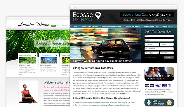 Check our some of our recent web design examples