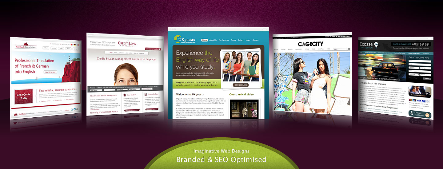 Elegant Business website design services that are branded and SEO opitimised.